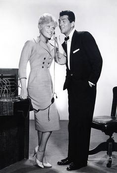 Dean Martin and Judy Holliday for Bells Are Ringing (1960)
