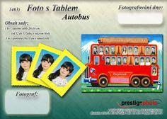 foto s tablem. Autobus.