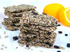 raw, vegan flax sunflower sesame crackers