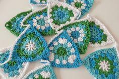 Gehaakte vlaggenlijn | Crochet Bunting