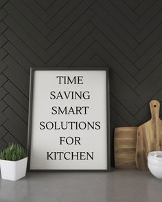 Time-saving smart solutions for kitchen | Fashionable Foodz Crave Restaurant, Time Saving, Lifestyle Group, Culinary Arts, In Writing, Parenting, Craft, Board, Kitchen