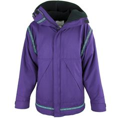 76ad8b67b5 Wintergreen Northern Wear Anorak X-Small   Amethyst Shell (Greenland Trim)  Combo Anorak (Women s) clothing made in america minnesota made outdoor  clothing ...
