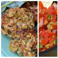Mexican Turkey Burger: Salsa:  ½ cup chopped tomato, 1 tbs chopped scallion, ½ tbs chopped fresh cilantro, 1 tsp white wine vinegar / Turkey Burger: 4 oz ground turkey, 1 tsp chopped scallion,  ½ tsp seed & minced jalapeno,  ½ tsp minced garlic, ¾ tsp chili powder, ¼ tsp ground cumin, & pinch of salt. 1) Combine salsa ingredients. 2) Combine turkey ingredients & shape into a patty. 3)Cook burger until cooked through serve w/ salsa. Makes 1 serving: 129 cal, 22g protein, 7g carbs, 2g fat.