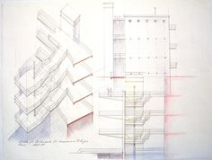 1987_88 GE_SS.GIAFILI  1987_88.4_carta vegetale cm. 50 x 70 by Brunetto De Batté