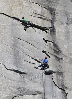 Tommy Caldwell, 36, and Kevin Jorgeson, 30, became the first climbers to reach the summit of El Capitan without bolts or climbing tools