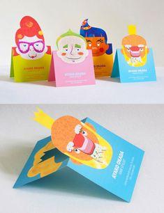 200+ creative business cards. Part 2: 100+ beautiful designs - ego-alterego.com