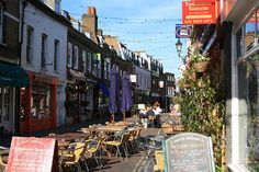 Lovely shops on Church Street - by Twickermum on Flickr