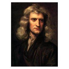 Isaac Newton (1643-1727)  newton was/is een belangrijke natuur wetenschapper hij heeft bijvoorbeeld de natuurwet voor zwaartekracht bedacht.Het verhaal was dat Newton onder een boom zat en een appel naar beneden viel en daar ging hij over na denken waarom de appel wel op de aarde viel maar de maan niet.