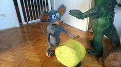 Maus Dinosaur Stuffed Animal, Toys, Animals, Diy, Animales, Animaux, Gaming, Games, Animais