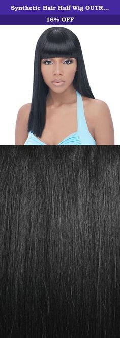Synthetic Hair Half Wig OUTRE Quick Weave Cap Brie Color 1. Self Styled In 60 SecondsChoose from the selections of beautiful, trendy and popular styles. Close to 100 styles available and more to come ...-Blends with your own hair for fullness without bulk. Change styles as often as you like in just a minute-Better than a wig. Blends with your own hair quickly-Better than a weave. Can be done anywhere, anytime by you, without help-Lets you be you. Use quick weave to allow your hair to…