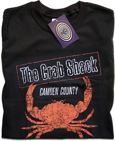 My Name is Earl The Crab Shack t-shirt at Timetunneltshirts.com the best for tv themed shirts