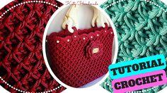 Tutorial crochet | Punto fiorellini in rilievo (o thai) uncinetto || Kat...