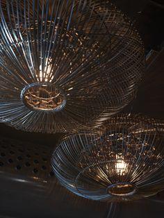 Restaurant Asia, designed by Metropolis arkitektur & design. Asia, Chandelier, Restaurant, Ceiling Lights, Interior, Projects, Design, Home Decor, Terrace
