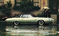 1973 Buick Century Regal Buick Cars, Buick Century, American Classic Cars, Buick Regal, Chevy Impala, Old Ads, My Ride, Hot Cars, Luxury Cars