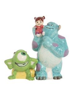 Disney Monsters, Inc. Sulley And Mike Salt And Pepper Shakers | Hot Topic