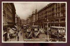 LONDON-1930-REAL-PHOTO-PPC-VALENTINES-REGENT-STREET