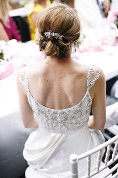 Destination Wedding: Lake Como Italy. Bride wears Collette Dinnigan Dress. Photo taken by Morlotti Studio
