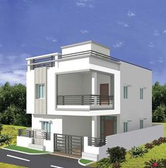Supraja Harmony offers 3 BHK Villas/Homes upto 2430 SqFt in Chandanagar, Hyderabad. Possession: Ready To Move. Get Complete Details on Updated Price, Amenities, Locality and much more. Bungalow Haus Design, Modern Bungalow House, Cottage Style House Plans, 2 Storey House Design, Duplex House Design, House Front Design, Modern Small House Design, Modern Exterior House Designs, Cool House Designs