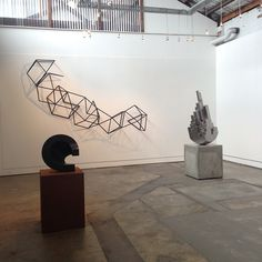 Join us tomorrow for the opening of 'Sculpture Park' from 6-8pm. Pictured are works by @dionhorstmans, Senden Blackwood, and @danlorrimer. Also included in the exhibition is Peter Tilley, Morgan Shimeld, Patsy Payne, and Jacek Wankowski. Daniel Connell's film 'Obsolete' will be screening in Black Box Projects. #sculpturepark15 #dionhorstmans #sendenblackwood #danlorrimer