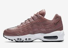 Tumbled Leather Galore On This Nike Air Max 95 For Women New Release Shoes a4e00be99