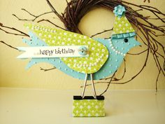 Stampin' Up!'s Elegant Bird Die