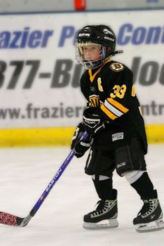 This is were it starts..studly little hockey player in the ...