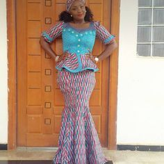 Ankara Styles With Pretty Blooms and Eye-Popping Trends - Wedding Digest Naija