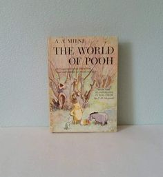 The World of Pooh by A A Milne Color by FlatRockGoods on Etsy