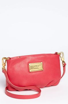In my dream life I would have this in every color. MARC BY MARC JACOBS 'Classic Q - Percy' Crossbody Bag available at #Nordstrom