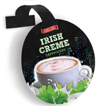 General Foods International (GFI) introduces Irish Creme cappuccino