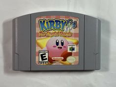 Kirby 64 The Crystal Shards Nintendo 64 Video Game for sale online Nintendo 64 For Sale, Nintendo 64 Games, Nintendo N64, Nintendo Switch, Mario Party Games, Kirby Games, Best Graphics, Old Toys, Video Game