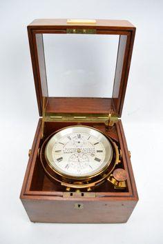 Marine Deck Chronometer Alexander Dobbie & Son Glasgow Makers to the Admiralty
