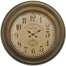 40 Inch Diameter Wood Hanging Wall Clock