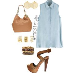 Untitled #161 by mayelin-decire-rodriguez on Polyvore featuring polyvore, fashion, style, Acne Studios, Fendi, Michael Kors, Kasturjewels and Charlotte Russe