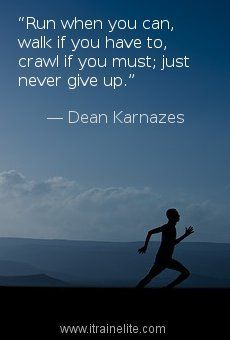Run, walk, or crawl motivation