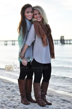 lauren soignet photography: Beach Session: Sisters