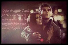 """Its always going to be Stefan"" <3"