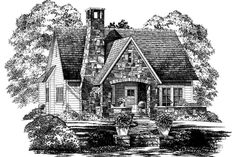 18 Small House Plans: Rockborne, Plan #639