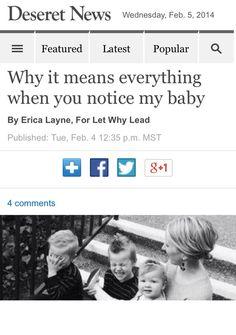 Deseret news article