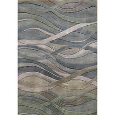 @Overstock - This hand-tufted rug features sleek wool construction and a plush 0.5-inch pile. This modern rug also features a grey stripe design with accent colors of silver, green and rust.http://www.overstock.com/Home-Garden/Hand-tufted-Metro-Classic-Grey-Green-Wool-Rug-8-x-10/5072823/product.html?CID=214117 $384.99