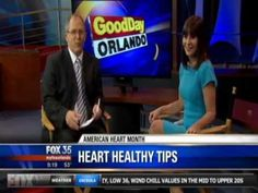 carol cottrill on FOX 35 - 'heart health tips' For more information follow Carol's board on Pinterest.