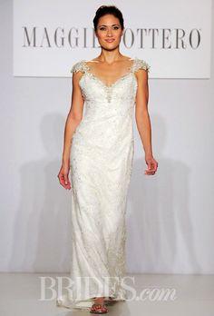 Brides.com: Maggie Sottero - Spring 2014. Wedding dress by Maggie Sottero
