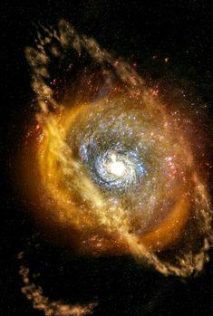 Galaxy Messier 77.