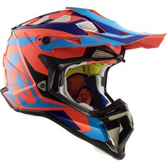 Subverter Nimble Motocross Helmet Black Blue S Motocross Enduro, Motocross Helmets, Motocross Racing, Dual Sport, Off Road Helmets, Dirt Bike Gear, Ski Equipment, Ktm, Bicycle Helmet