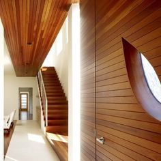 Hall modern stair Design Ideas, Pictures, Remodel and Decor