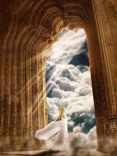 Heaven's gates, Bride of Christ prophetic art. Religion, Art Prophétique, Celestial, Jesus E Maria, Bride Of Christ, Prophetic Art, A Course In Miracles, Angels Among Us, King Of Kings