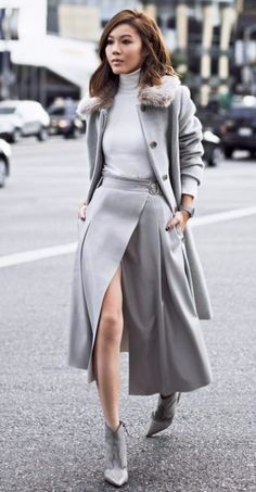 structured-wrap-skirt-with-gray-coat