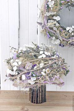 Купить Сиреневый букет - бледно-сиреневый, летрий букет, сиренеый, летняя композиция, цветы для дома