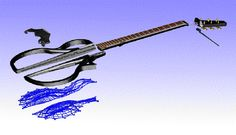 Neck through Acoustic