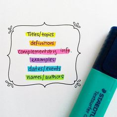 I've started colour coding my revision and it is very useful, I do suggest that…